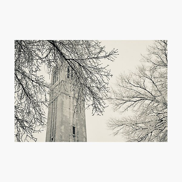 NC State Bell Tower Photographic Print