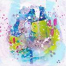 Ocean Spray Abstract by Niki Jackson by Niki Jackson