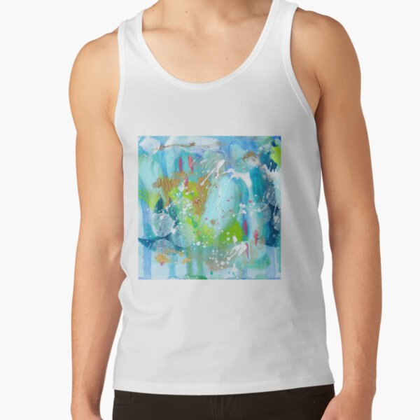 Call of the Ocean Abstract by Niki Jackson Tank Top
