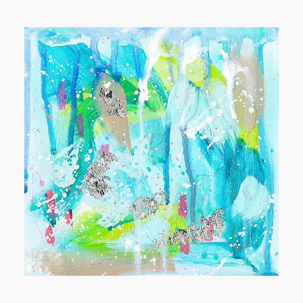 Surfs Up! Abstract by Niki Jackson Photographic Print