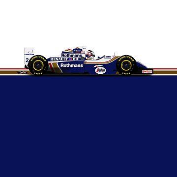 Formula 1 - Nigel Mansell - Williams FW16B by JageOwen