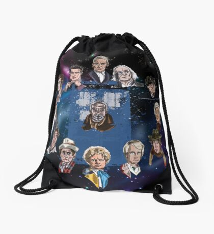 Lords of Time Drawstring Bag