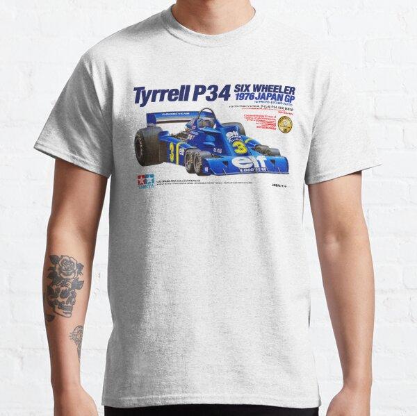 TYRRELL P34 SIX WHEELER T-shirt classique