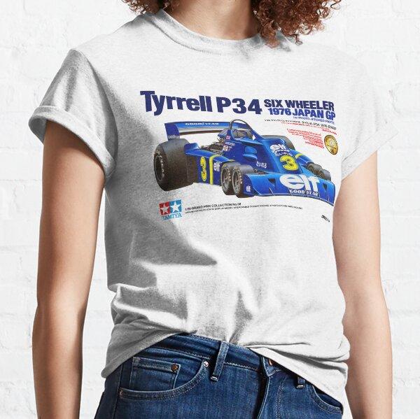 TYRRELL P34 SEIS RUEDAS Camiseta clásica