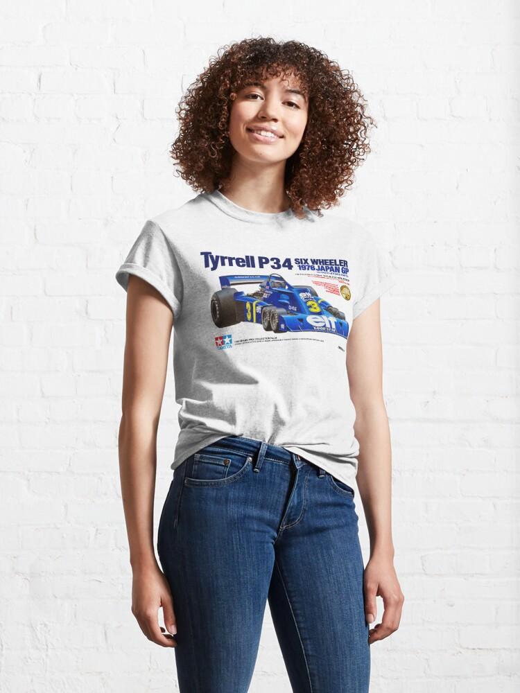 Alternate view of TYRRELL P34 SIX WHEELER Classic T-Shirt