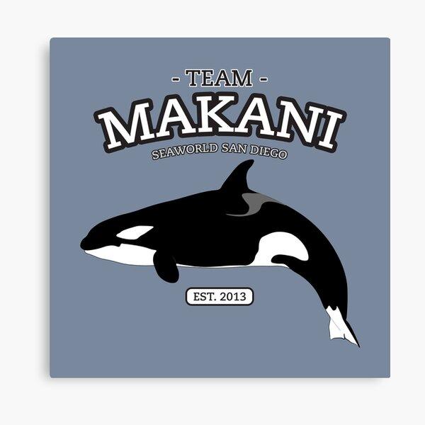 Team Shamu - Makani Canvas Print