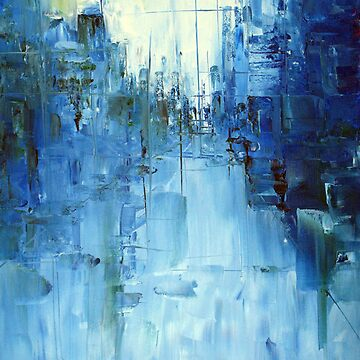 Cold #3 Abstract cityscape by SamDurkin