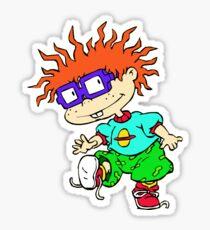 Chuckie rugrats Sticker