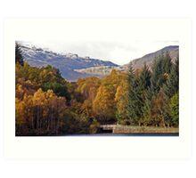 Loch Katrine - The Trossachs Art Print