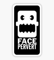 Face Pervert Sticker