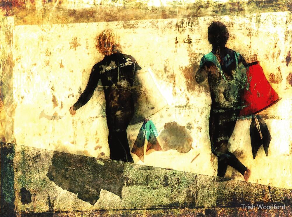 Retro Grunge by Trish Woodford