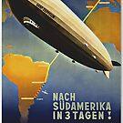 Graf Zeppelin to South America...1937 by edsimoneit