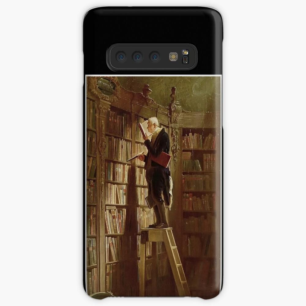 The Bookworm, by Carl Spitzweg Case & Skin for Samsung Galaxy
