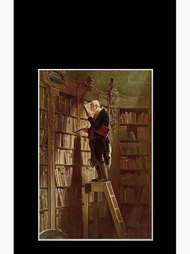 The Bookworm, by Carl Spitzweg by edsimoneit