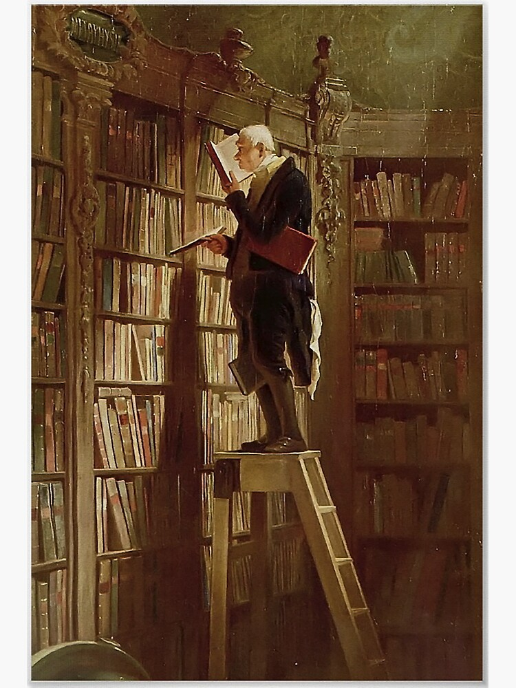 The Bookworm, by Carl Spitzweg by edsimoneit