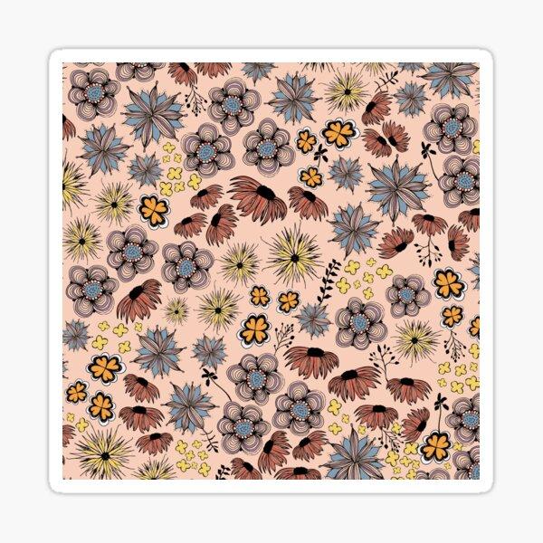 Blumensketch Sticker