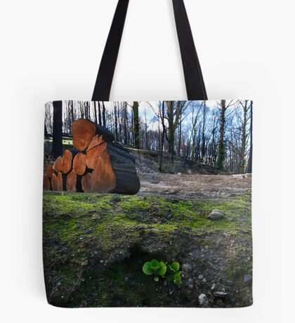 Hope Amidst Destruction Tote Bag