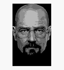 Breaking Bad - Heisenberg ( Vector ) Photographic Print