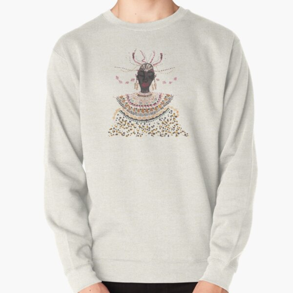 African lady Pullover Sweatshirt