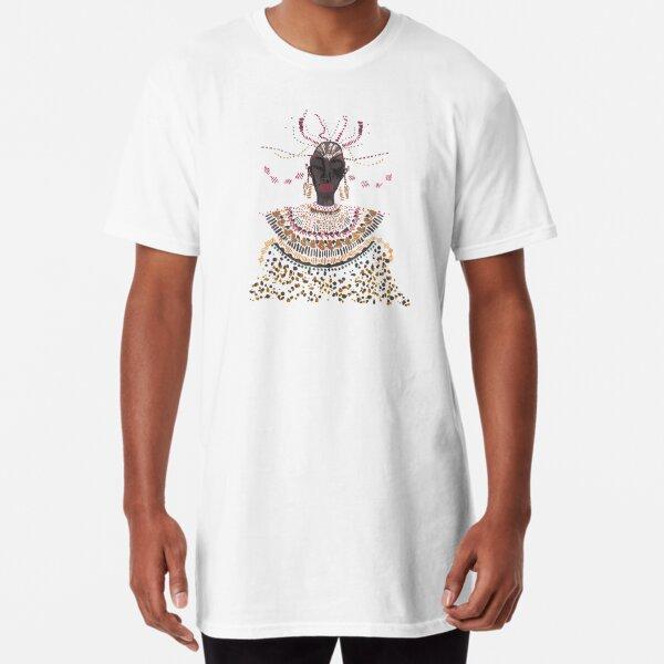 African lady Long T-Shirt