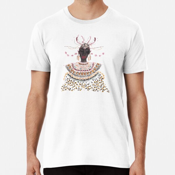 African lady Premium T-Shirt