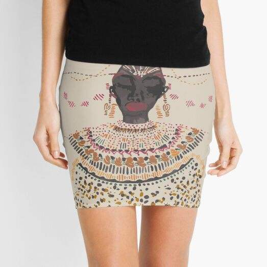 African lady Mini Skirt