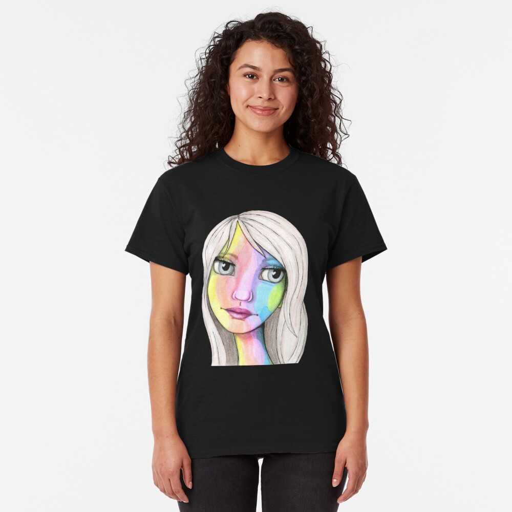 She Loves In Color Classic T-Shirt