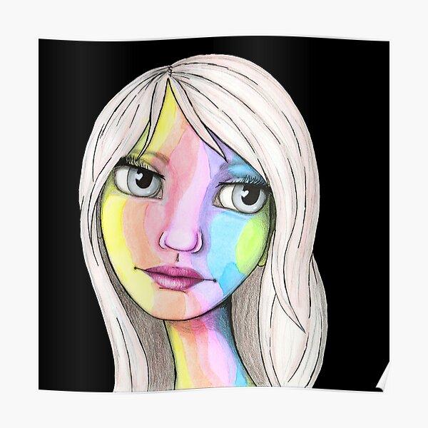 She Loves In Color Poster