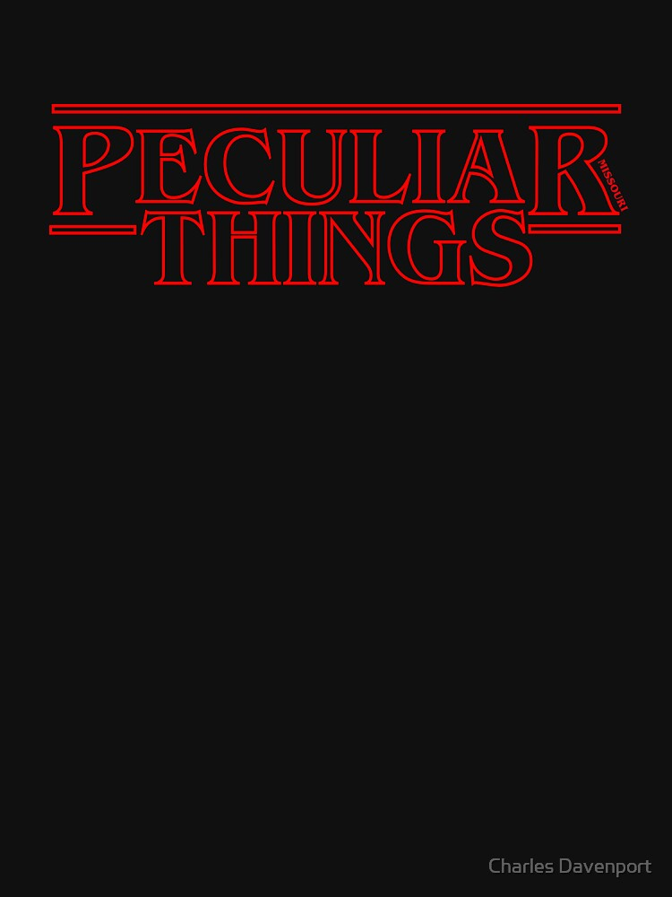 Peculiar Things by cdavenport4