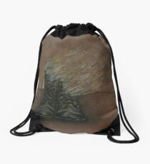 Dying Slowly Long After the Battle is Over Drawstring Bag