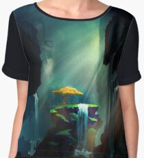 The Tree in the Cave Chiffon Top