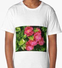 Wild Roses Long T-Shirt