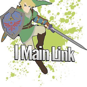 I Main Link - Super Smash Bros. For Wii U by PrincessCatanna