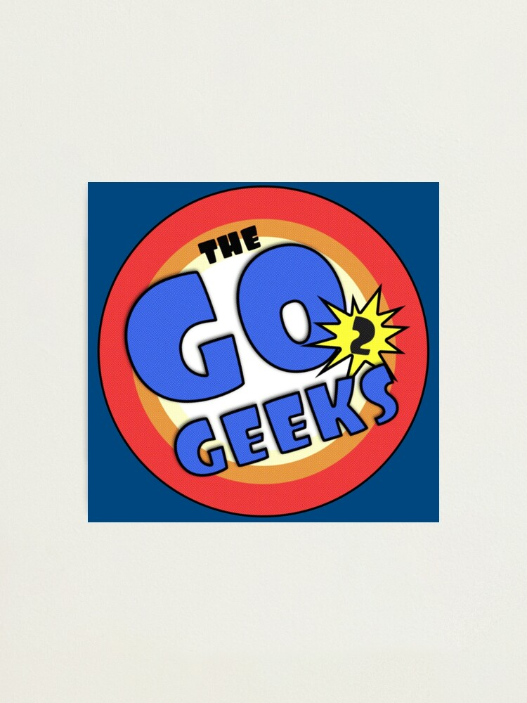 Alternate view of The Go2Geeks Photographic Print