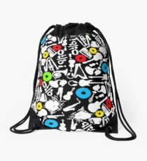 abstract music  Drawstring Bag