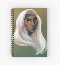 The White Haired Woman Spiral Notebook