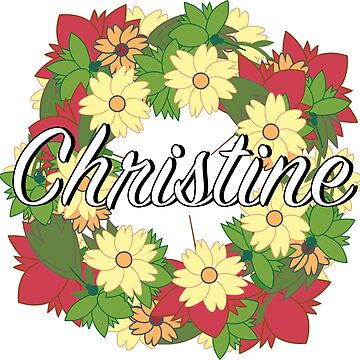 Christine - Flower Wreath by Nevl