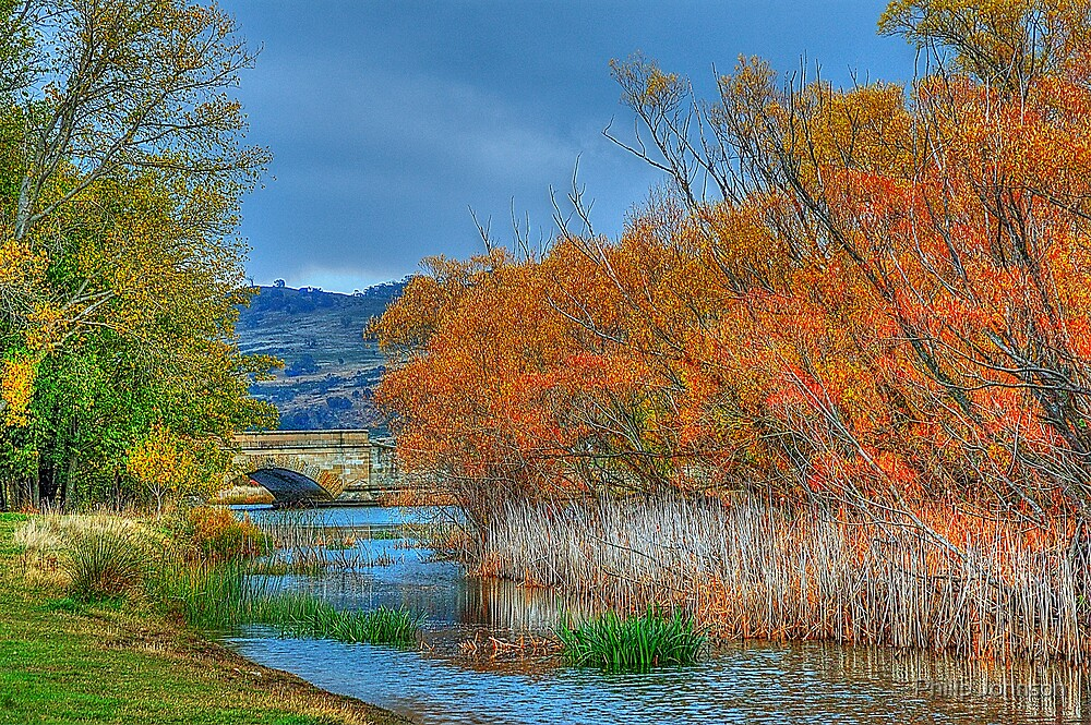 Autumn On My Mind  - Ross, Tasmania - The HDR Experience by Philip Johnson