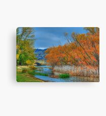 Autumn On My Mind  - Ross, Tasmania - The HDR Experience Canvas Print
