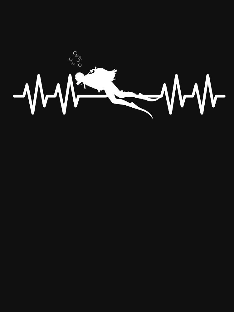 Scuba Diving Heartbeat by kieranight