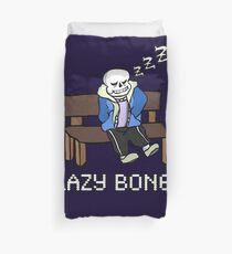 Lazy Bones- Undertale Sans Duvet Cover