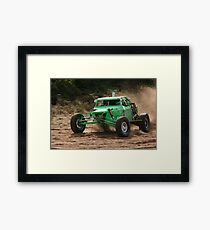 Power and Motion 1 Framed Print