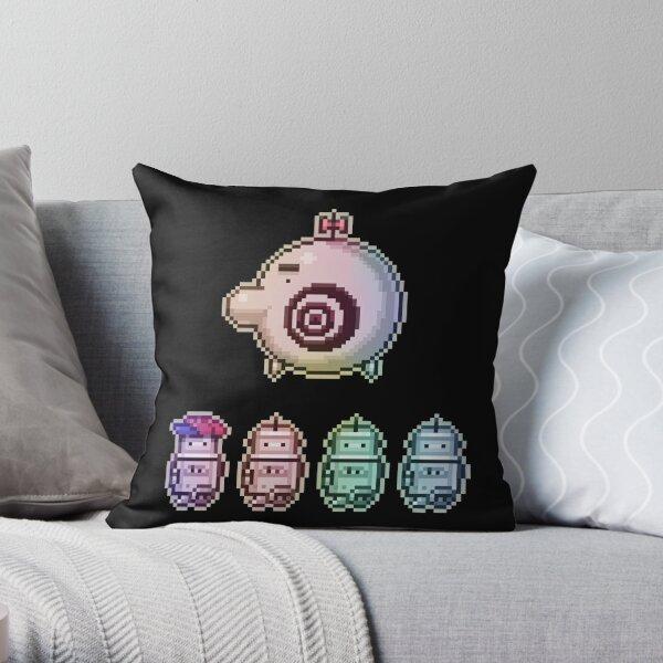 Time Traveleing Soulbots Throw Pillow