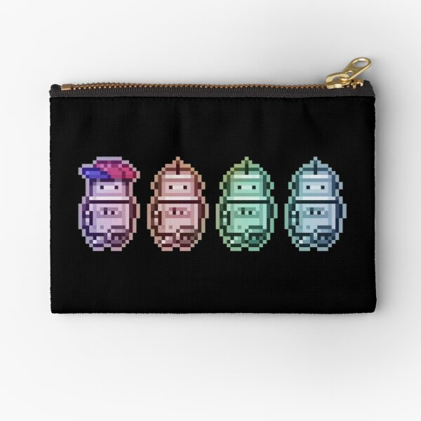 Time Traveleing Soulbots Zipper Pouch