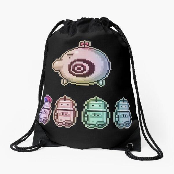 Time Traveleing Soulbots Drawstring Bag