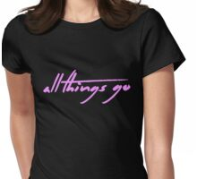 The Pinkprint: All Things Go [Song Title] Womens Fitted T-Shirt