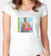jim friday night dinner Women's Fitted Scoop T-Shirt