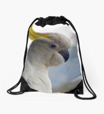My Best Side Drawstring Bag