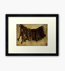 KEY COMMUNITY Framed Print
