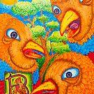 Three Birds by CaptSnowflake
